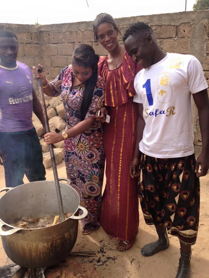 ( 04 PHOTOS ) Modou Mbaye s'affiche avec sa dulcinée Awa Ndiaye