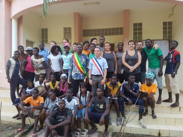 Chantier solidaire en Casamance : Les jeunesses d'Oussouye et de Cabourg en France se rencontrent