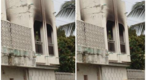Gambie : Le siège du parti de Yaya Jammeh incendié