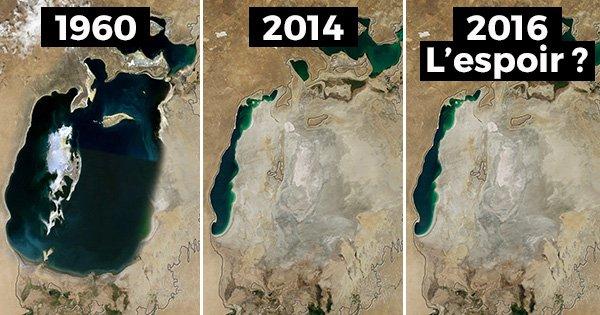 Miracle : la mer d'Aral, que l'on pensait disparue à tout jamais, renaît !