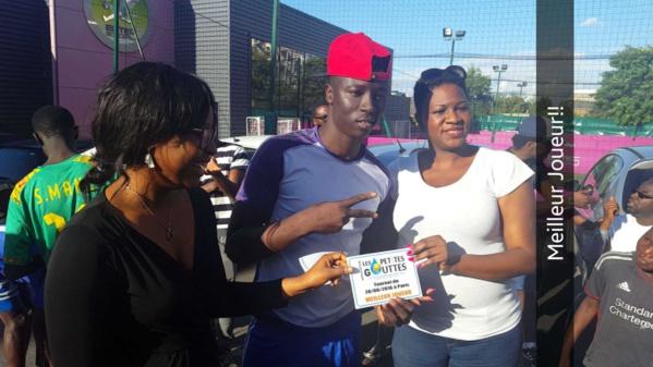 Social foot day de La petite Goutte : Paris comme Dakar !