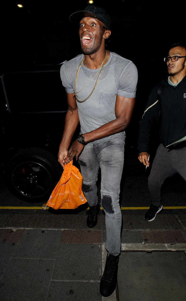 Photos - Usain Bolt : Il continue son marathon de l'infidélité à Londres !