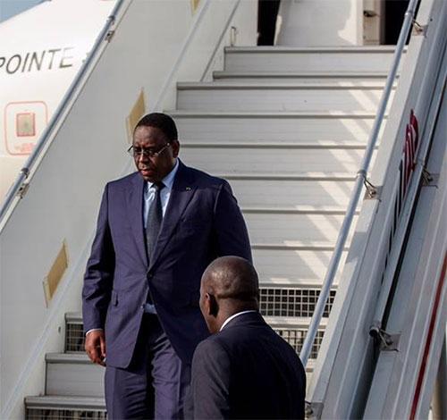 TICAD VI : Arrivée du Président Macky Sall à Nairobi