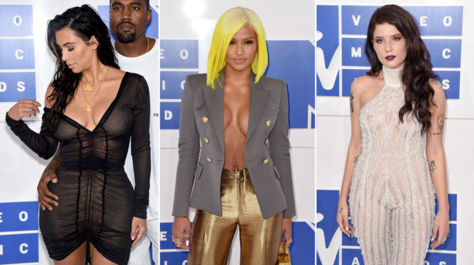 Photos - Les looks très sexy des MTV Video Music Awards 2016