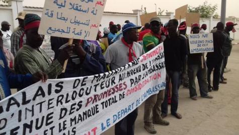 Mauritanie: la police interrompt une manifestation des ressortissants Sénégalais