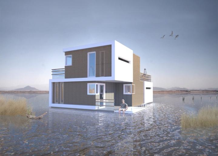 Il invente une maison spéciale « divorce », pour que chacun puisse vivre séparé de l'autre sans forcément déménager