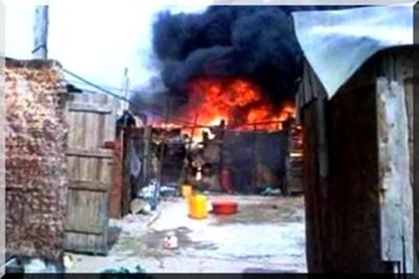 Incendie criminel : Deux filles boutent le feu à la case de leurs amants infidèles