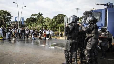 Gabon : affrontements à Libreville après l'annonce de la victoire d'Ali Bongo
