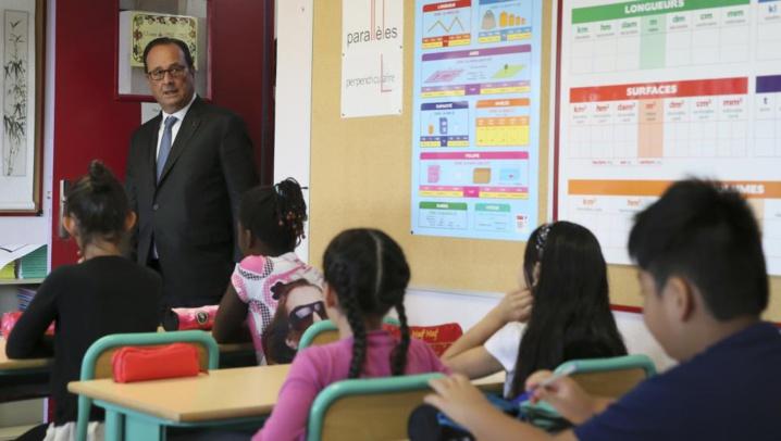 Rentrée scolaire en France: la décriée réforme du collège dans les classes