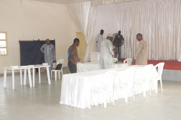 HCCT : le vote a démarré au centre Hamo 4 de Guédiawaye