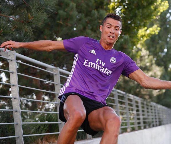 Real de Madrid : Cristiano Ronaldo s'entraine comme un fou