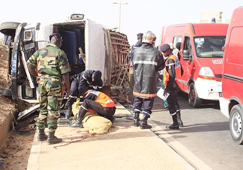 Louga : Deux accidents de la route font six morts