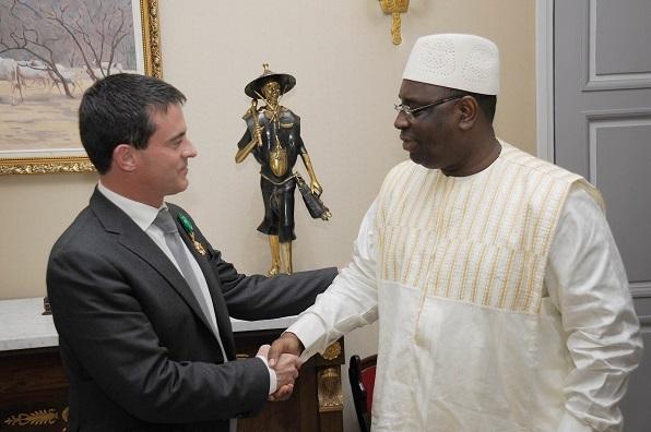 Visite officielle du PM français : Manuel Valls à Dakar le 22 septembre