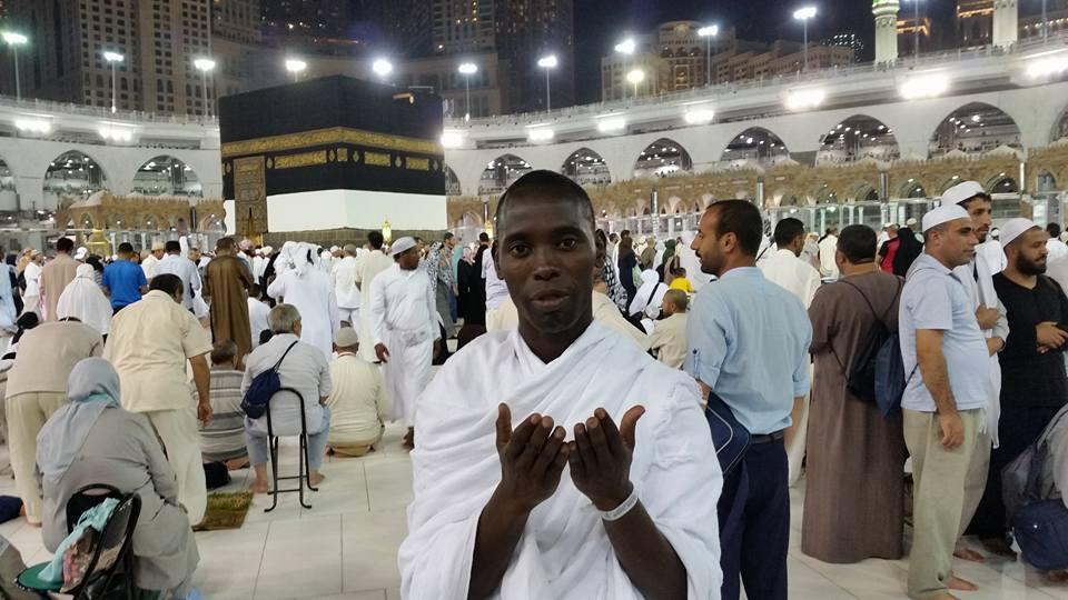Le rédacteur en chef de Seneweb, Daouda Mine, à la Mecque...