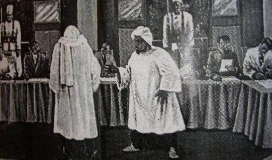 La Prière de Serigne TOUBA au bureau du gouverneur de Saint-Louis en 1895,