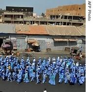 Sénégal : le futur Monument à la renaissance africaine