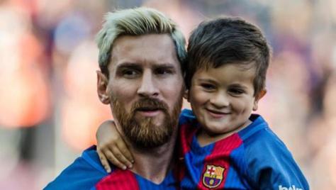 Le fils de Lionel Messi recruté par le FC Barcelone