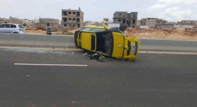 Photos : Les images inquiétantes d'un accident sur la Vdn