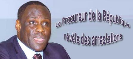(Audio-Audio) Le Procureur de la République révèle des arrestations