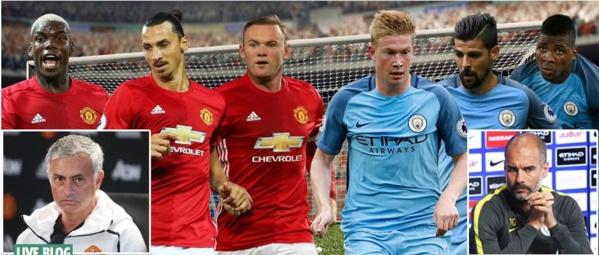 Derby Man United-Man City, ce samedi : le choc des portefeuilles