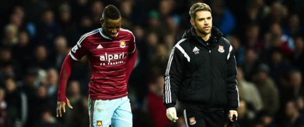West Ham : Dafra Sakho souffre toujours