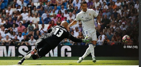 Liga : le but de Cristiano Ronaldo pour son retour avec le Real Madrid