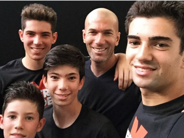 Violation transferts de joueurs mineurs : les fils de Zidane ne pourront pas jouer pour le Real Madrid