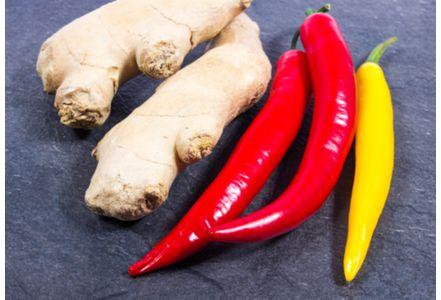 Le piment et le gingembre réduiraient le risque de cancer du poumon