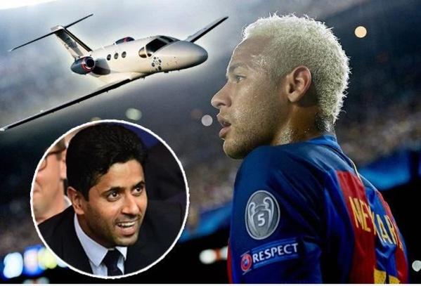 Mercato : un jet privé personnel, un salaire de 40 millions par an, une chaîne d'hôtels à son nom… les folles promesses du PSG à Neymar