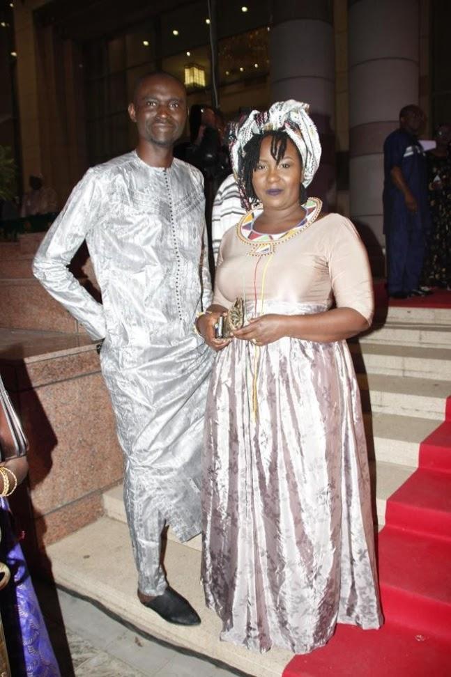 Khalifa Diakhaté, et sa femme Khady Niang