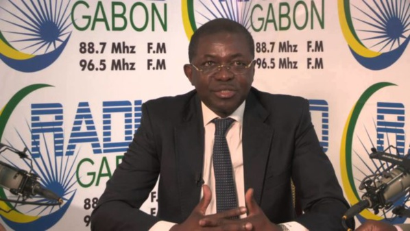 Seraphin Moundounga, l'ancien ministre de la Justice gabonais démissionaire, victime d'une tentative d'assassinat