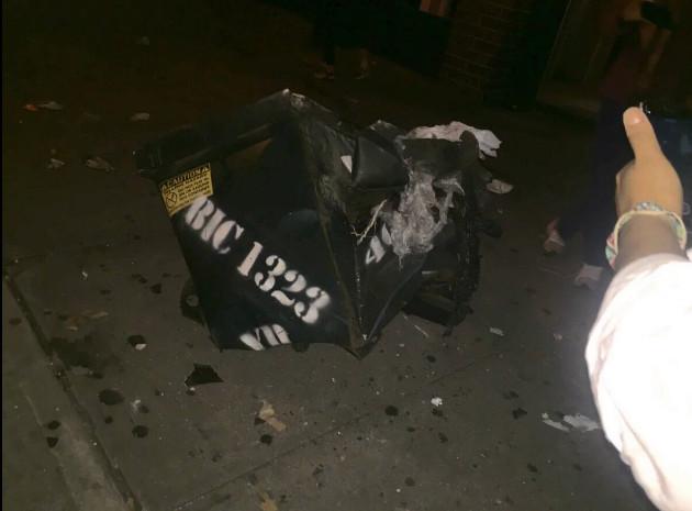 Photos de l'explosion de Manhattan (New York)
