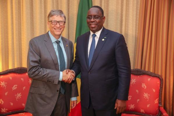 Audience : quel intérêt pour le Sénégal avec cette poignée de main entre Macky Sall et Bill Gates?
