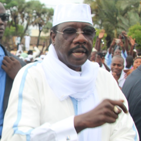 Serigne Moustapha Sy vote Khalifa Sall !