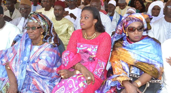 L'une des dernières apparitions publiques de Oulimata Dia, la veuve de Mamadou Dia