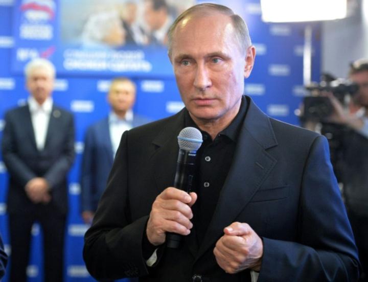 Russie : le parti de Poutine remporte la majorité absolue au Parlement