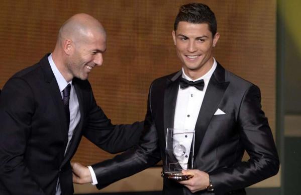 Real Madrid : Zidane vote Ronaldo pour le Ballon d'Or et place Griezmann sur le podium