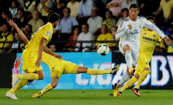 Villaréal freine le Réal Madrid de Zizou