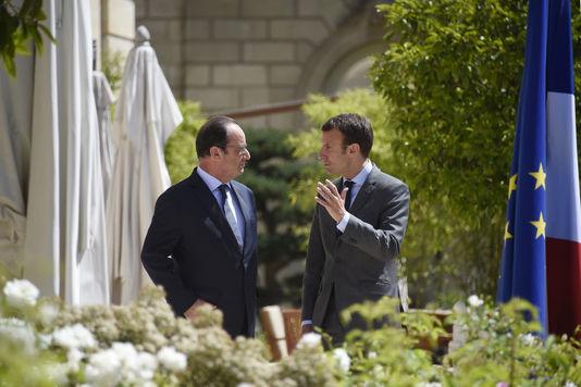 Entre Hollande et Macron, la tension monte