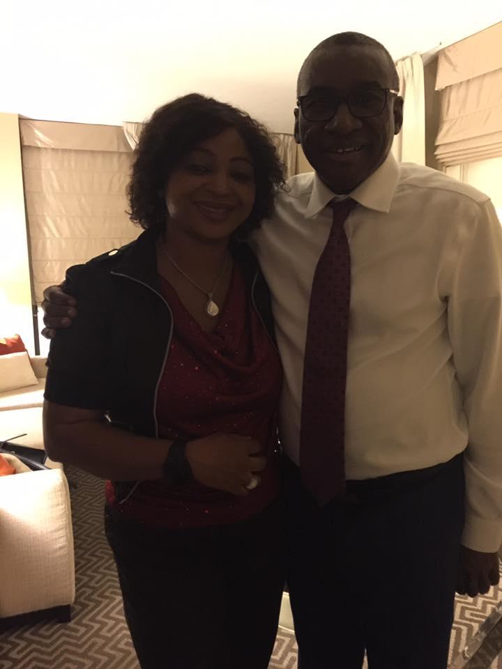 Visite de Sidiki à sa famille  New York au sommet de l'ONU