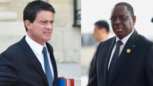 Manuel Valls présente Macky Sall comme son «ami»