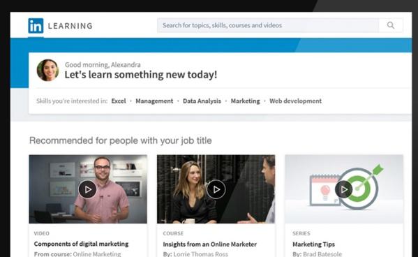 LinkedIn se lance dans l'éducation avec des cours en ligne
