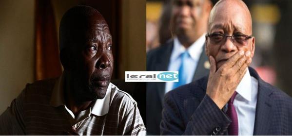 """Michael Zuma fait un plaidoyer dramatique à son frère Jacob Zuma, président de l'Afrique du Sud : """"Quitte maintenant ou risque d'être tué"""""""
