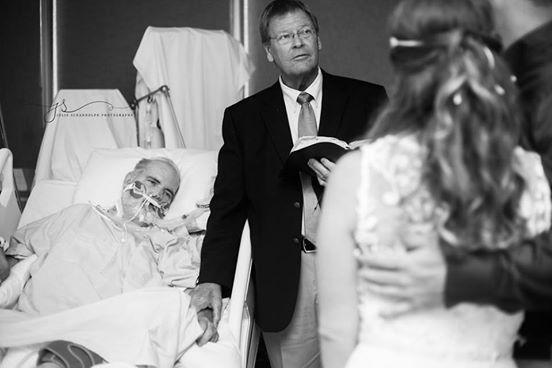 Un père veut assister au mariage de sa fille avant de mourir