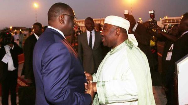 Macky Sall, premier chef d'Etat à avoir publiquement félicité Ali Bongo Ondimba
