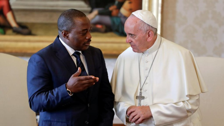 RDC: le Président Kabila reçu par le Pape François au Vatican