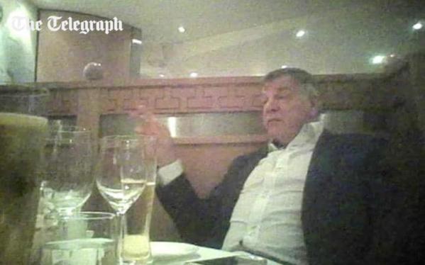 Angleterre : piégé par des journalistes, Sam Allardyce au coeur d'un gros scandale