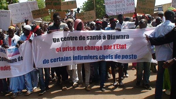 En colère contre leurs dures conditions de vie : Les populations de Moudéry marchent à Bakel