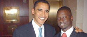 THIONE NIANG, UN JEUNE PRODIGE SENEGALAIS  Au Cœur de la Campagne de Barack Obama
