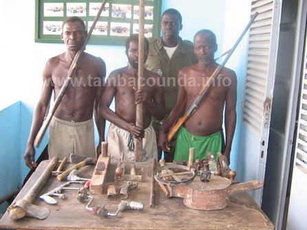 Photos d'archives des accolytes de Zacharia arrêtés sur l'axe tamba-Kédougou